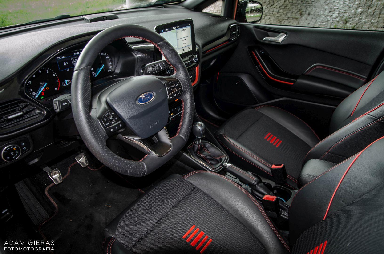 FIESTA ST 13 Test: Ford Fiesta 1.0 Ecoboost ST Line   zwinne cacuszko