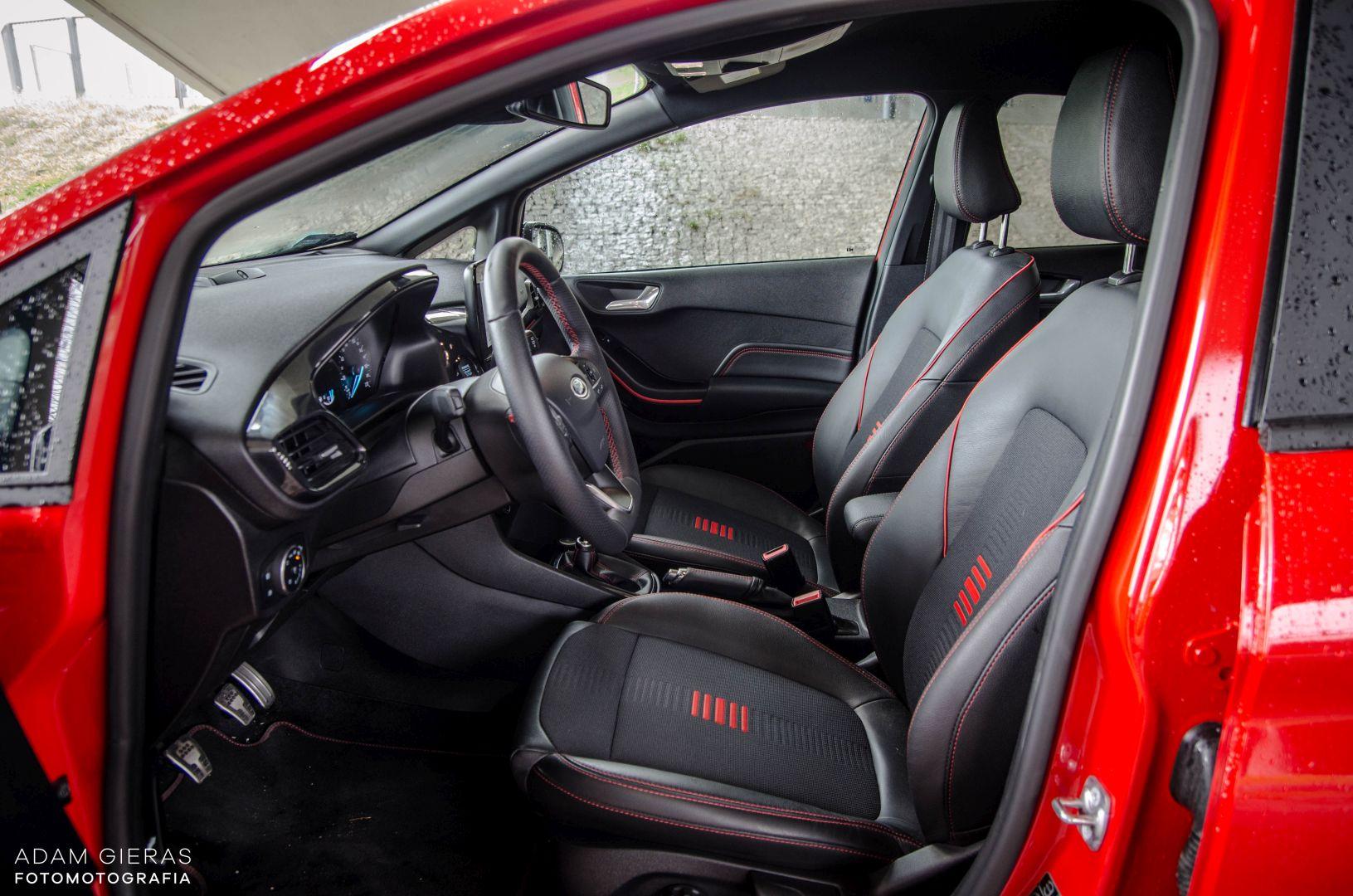 FIESTA ST 15 Test: Ford Fiesta 1.0 Ecoboost ST Line   zwinne cacuszko
