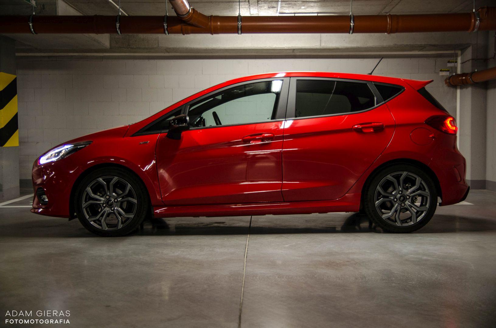 FIESTA ST 2 Test: Ford Fiesta 1.0 Ecoboost ST Line   zwinne cacuszko