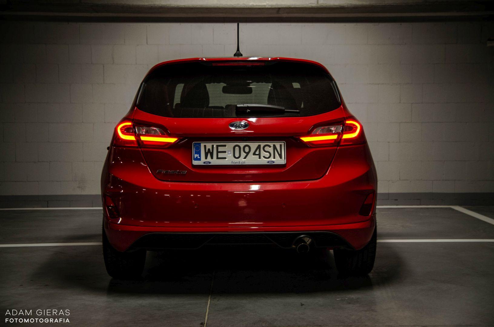 FIESTA ST 9 Test: Ford Fiesta 1.0 Ecoboost ST Line   zwinne cacuszko