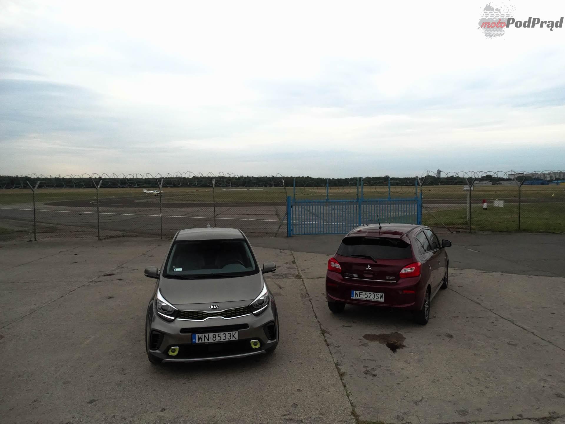 Kia Picanto vs Mitsubishi Space Star 4 Porównanie: Kia Picanto kontra Mitsubishi Space Star   dwa światy