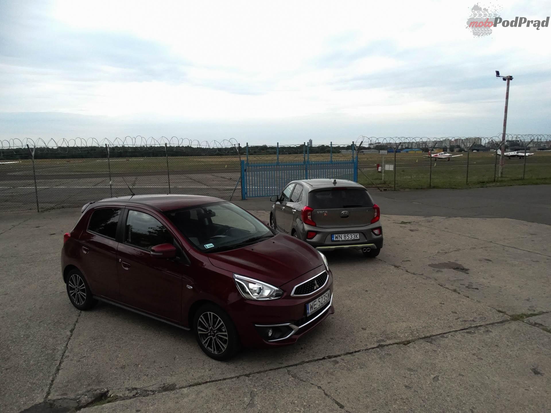 Kia Picanto vs Mitsubishi Space Star 7 Porównanie: Kia Picanto kontra Mitsubishi Space Star   dwa światy