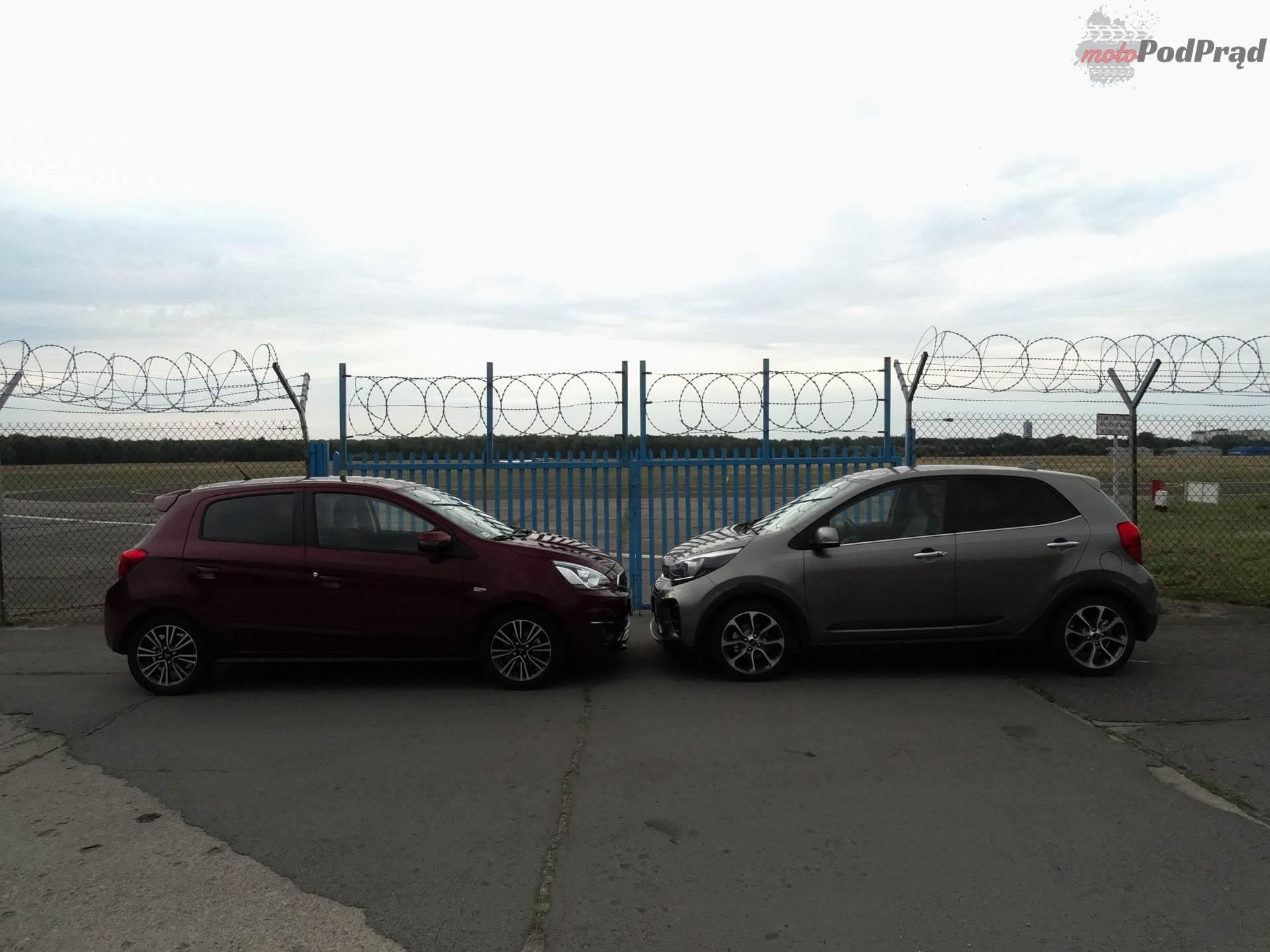 Kia Picanto vs Mitsubishi Space Star 9 Porównanie: Kia Picanto kontra Mitsubishi Space Star   dwa światy