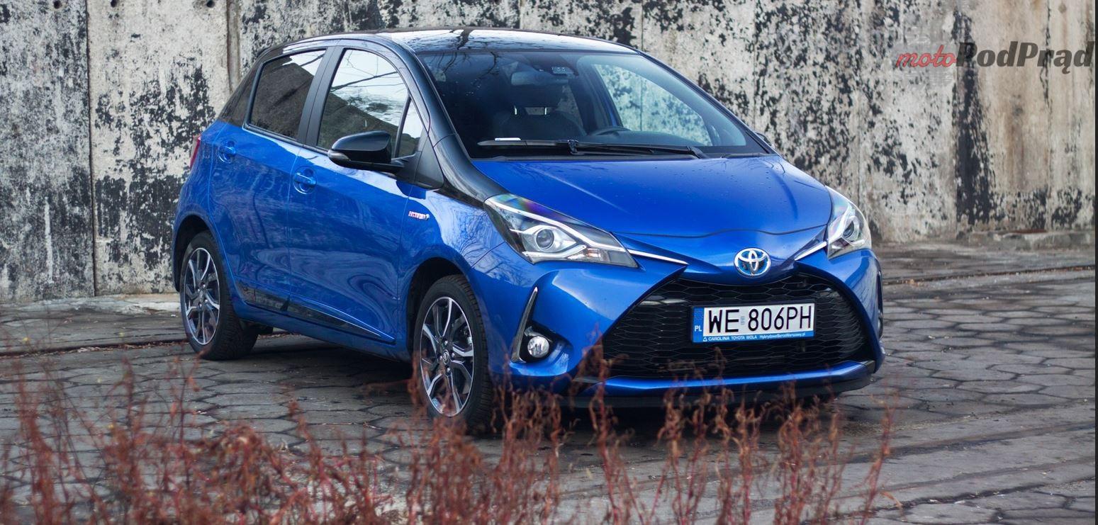 Toyota Yaris Jak hybrydy to tylko Toyoty?