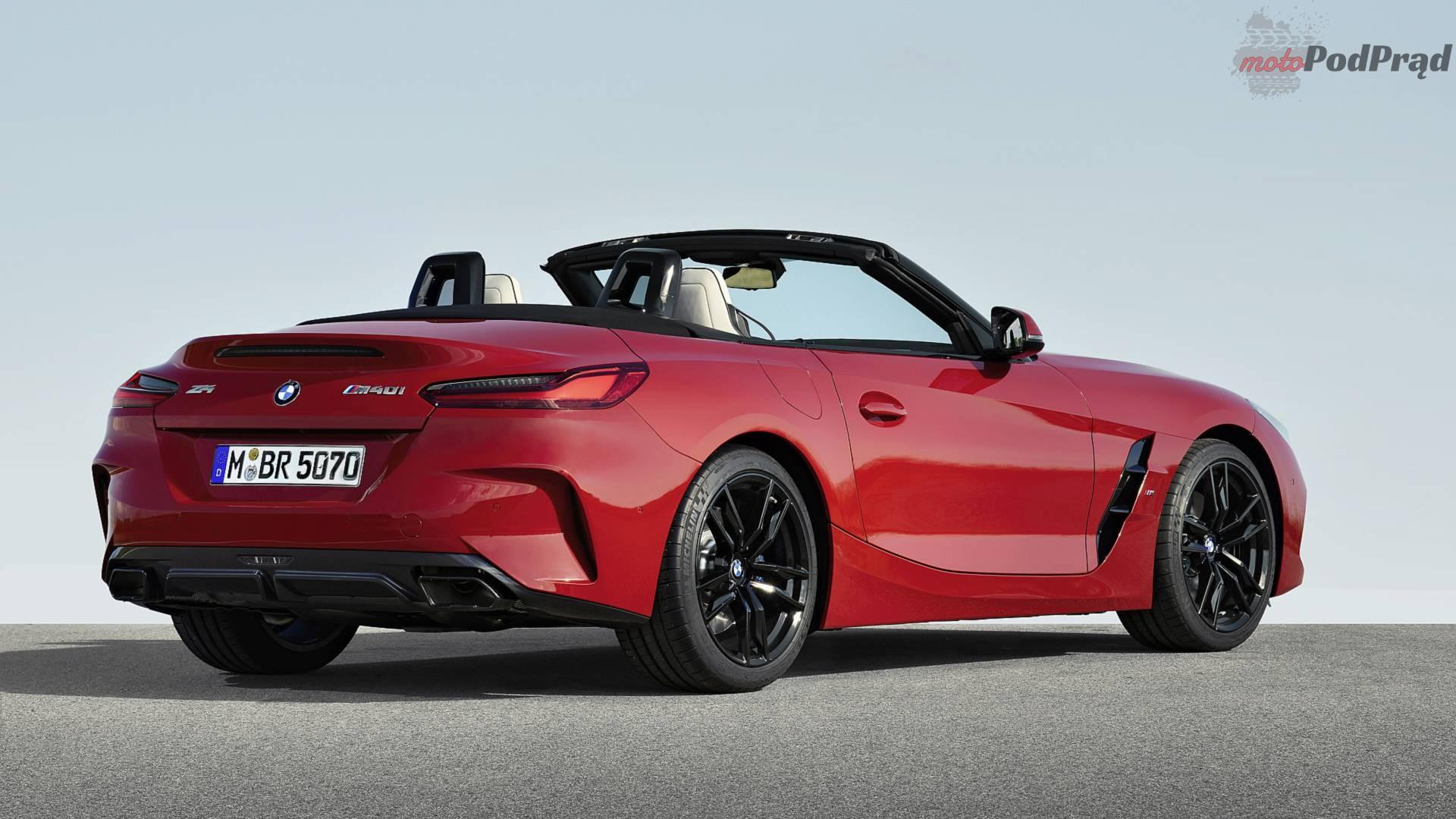 nuova bmw z4 1 Nowe BMW Z4 pręży muskuły