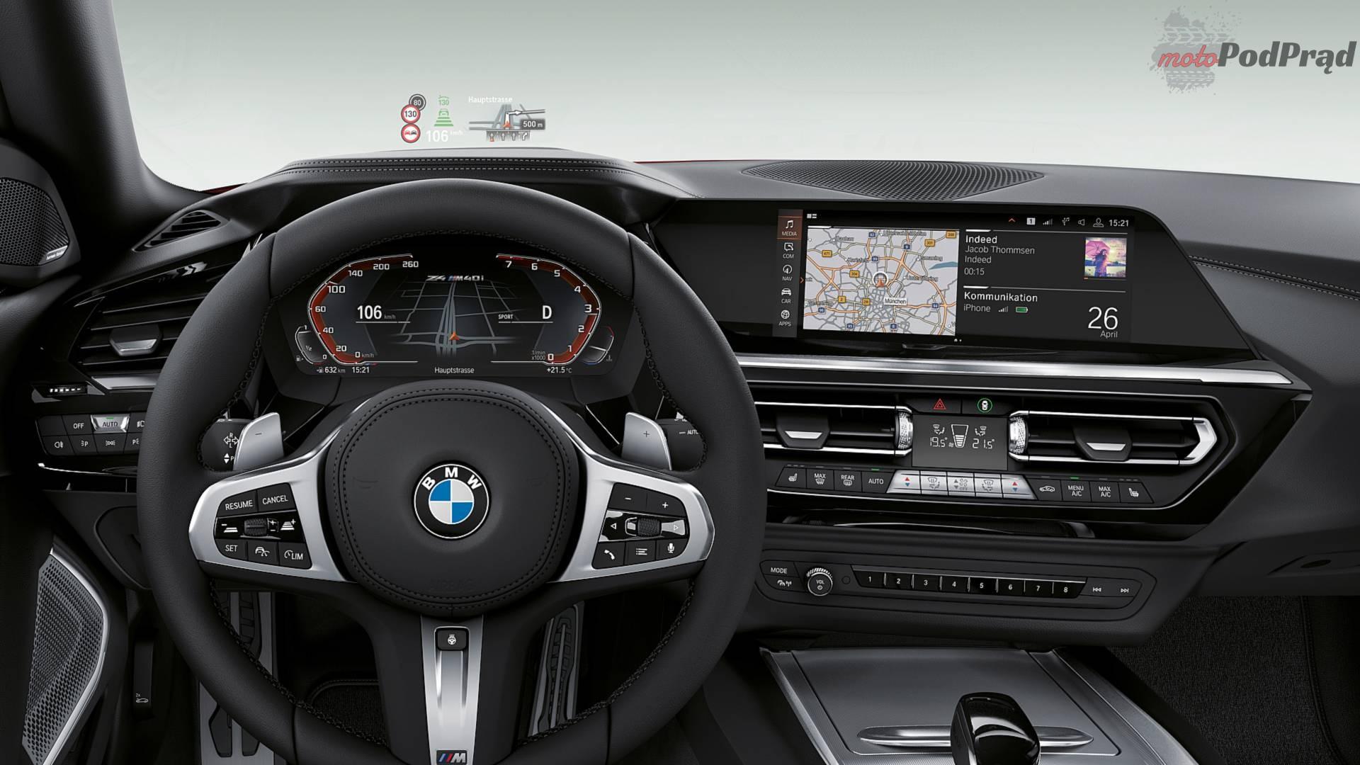 nuova bmw z4 3 Nowe BMW Z4 pręży muskuły