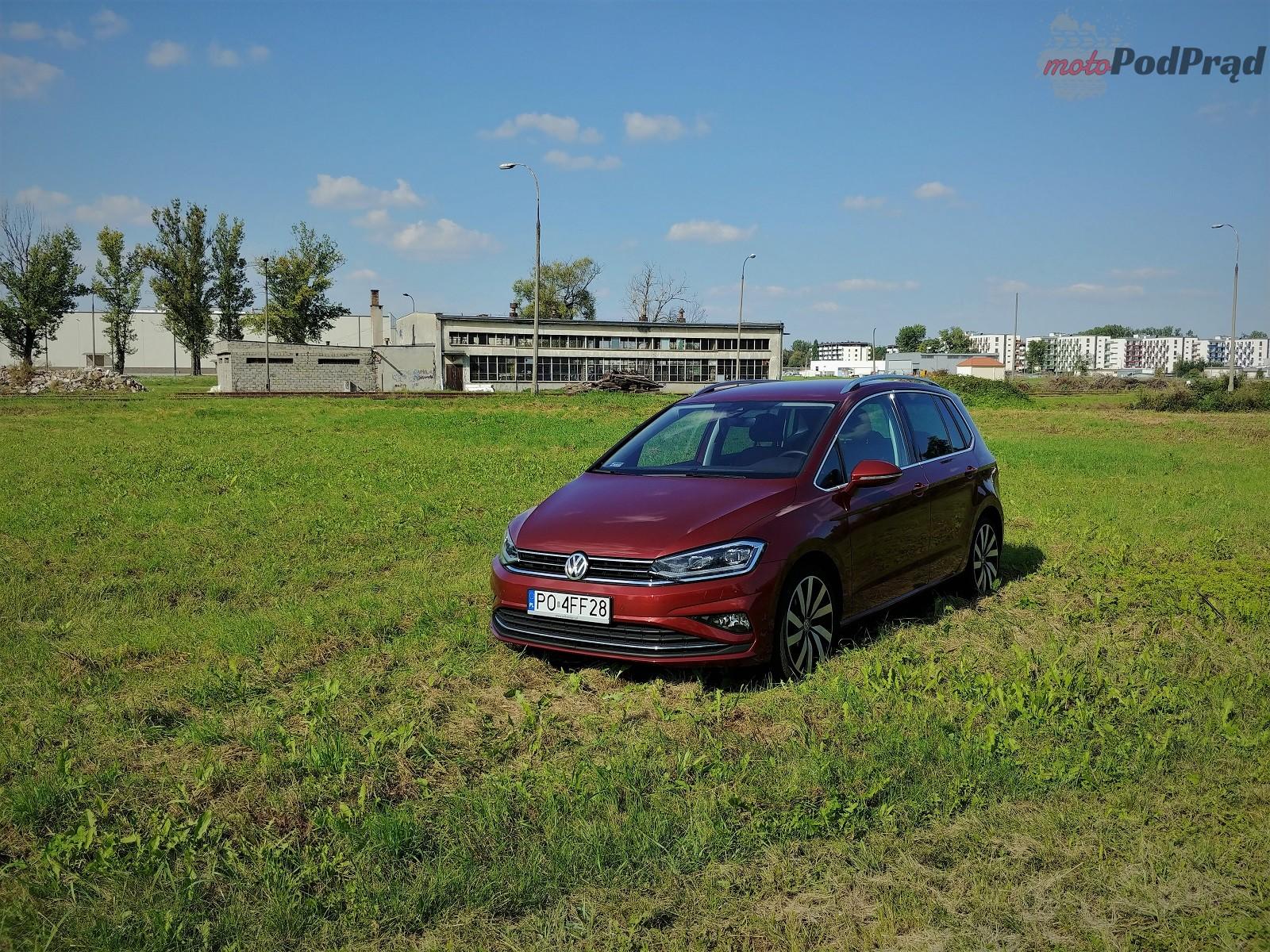 Volkswagen Golf Sportsvan 10 Test: Volkswagen Golf Sportsvan 1.5 TSI   garbaty anioł