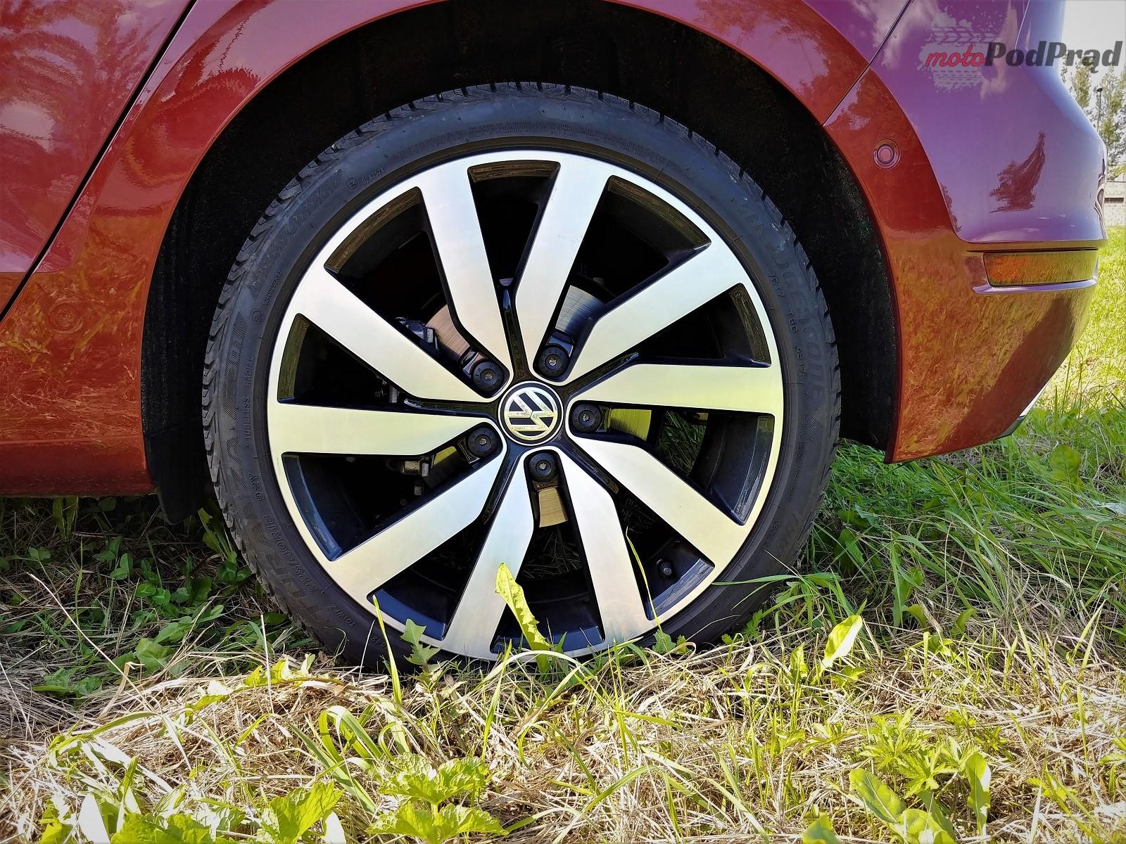 Volkswagen Golf Sportsvan 13 Test: Volkswagen Golf Sportsvan 1.5 TSI   garbaty anioł