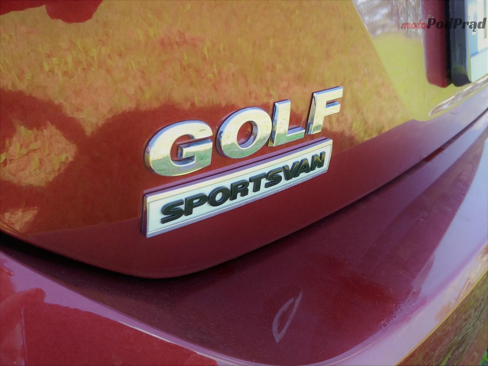 Volkswagen Golf Sportsvan 14 Test: Volkswagen Golf Sportsvan 1.5 TSI   garbaty anioł