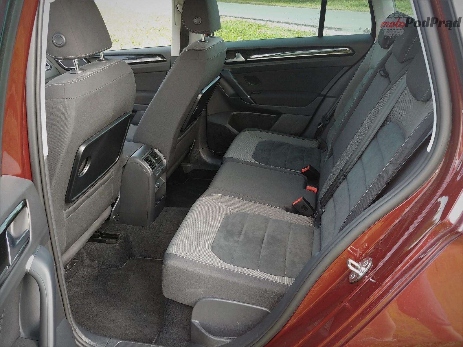 Volkswagen Golf Sportsvan 16 Test: Volkswagen Golf Sportsvan 1.5 TSI   garbaty anioł