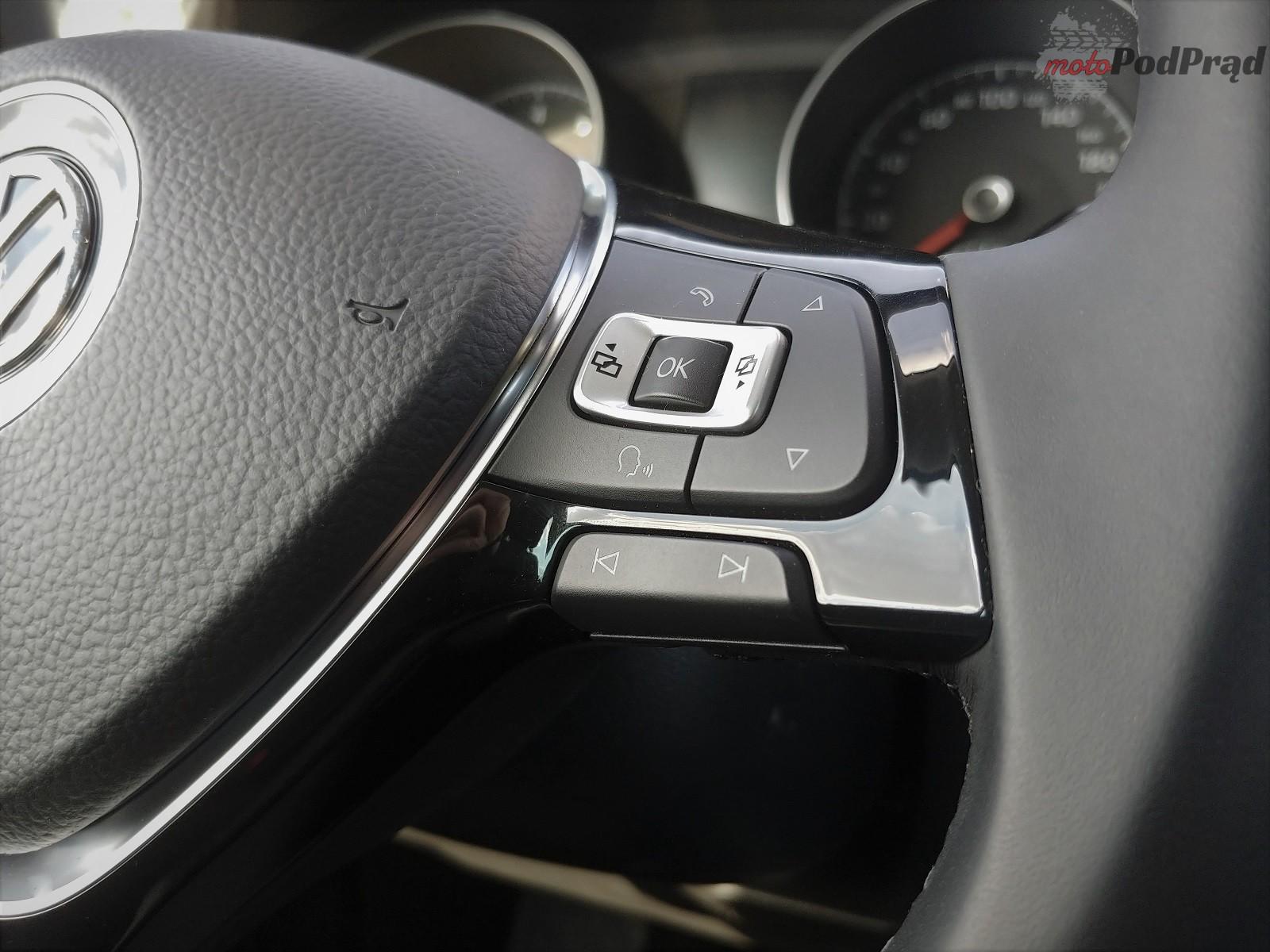Volkswagen Golf Sportsvan 19 Test: Volkswagen Golf Sportsvan 1.5 TSI   garbaty anioł