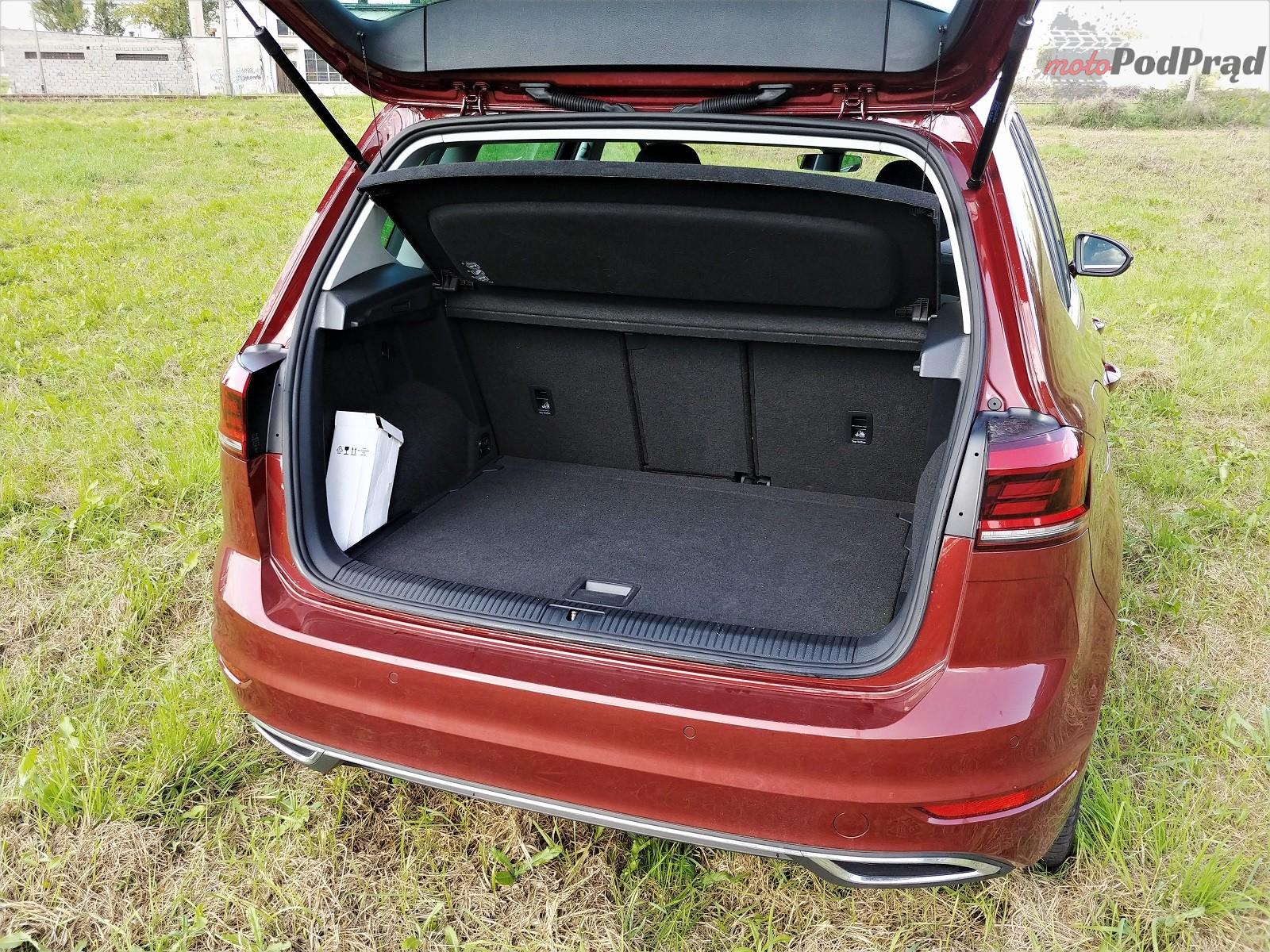 Volkswagen Golf Sportsvan 21 Test: Volkswagen Golf Sportsvan 1.5 TSI   garbaty anioł