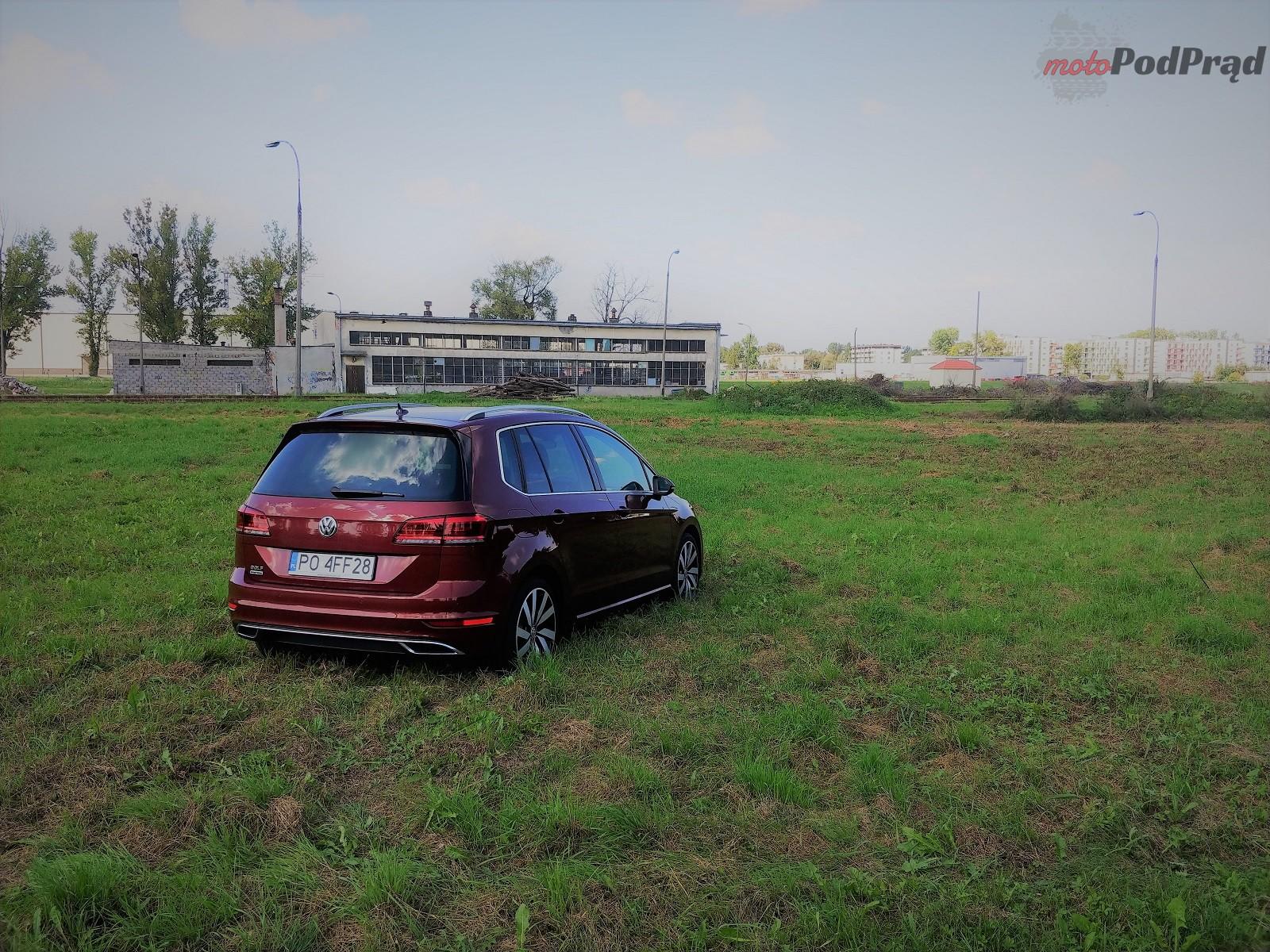 Volkswagen Golf Sportsvan 24 Test: Volkswagen Golf Sportsvan 1.5 TSI   garbaty anioł