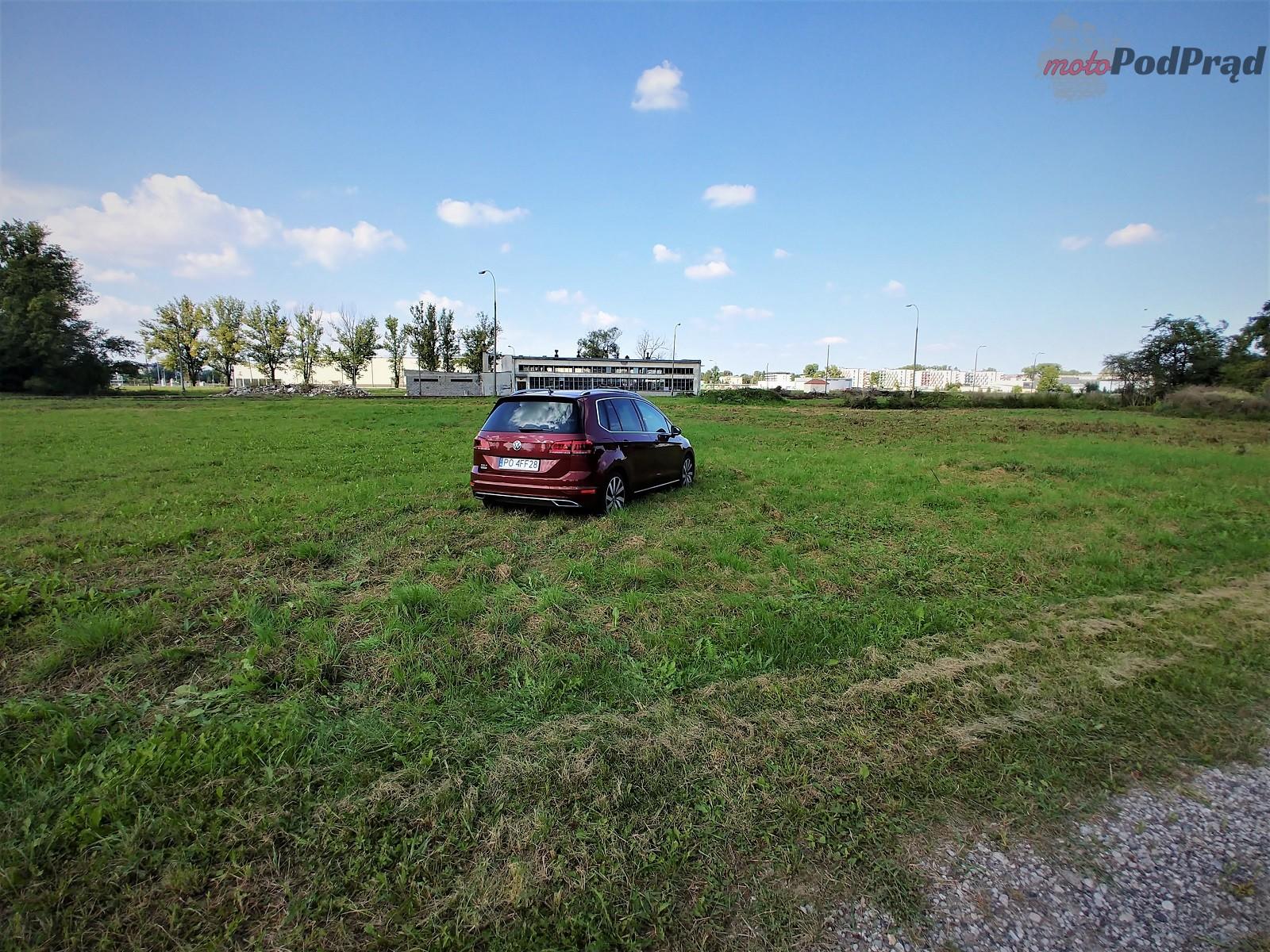 Volkswagen Golf Sportsvan 25 Test: Volkswagen Golf Sportsvan 1.5 TSI   garbaty anioł