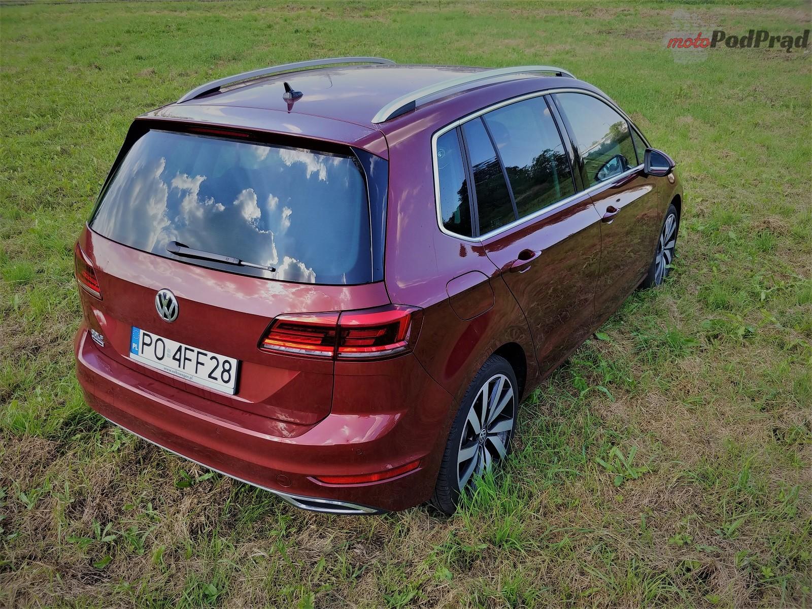 Volkswagen Golf Sportsvan 26 Test: Volkswagen Golf Sportsvan 1.5 TSI   garbaty anioł