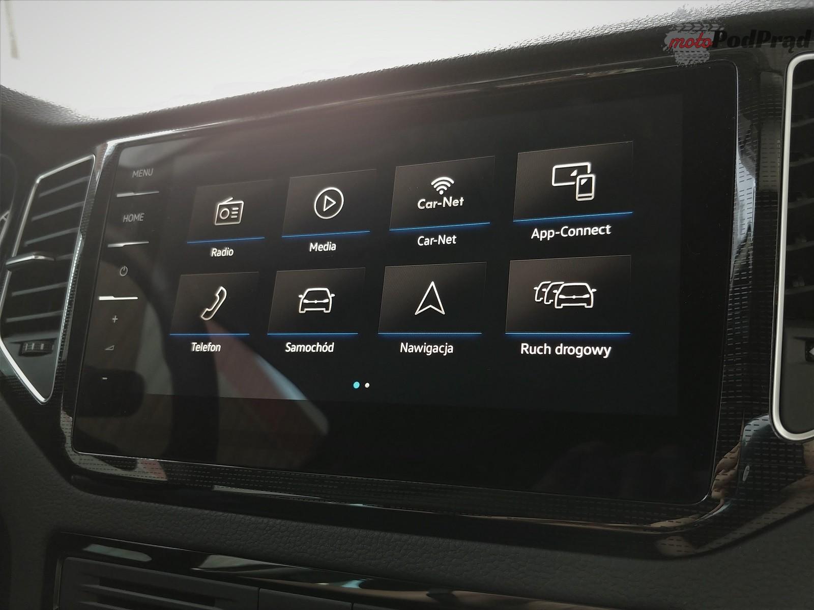 Volkswagen Golf Sportsvan 35 Test: Volkswagen Golf Sportsvan 1.5 TSI   garbaty anioł