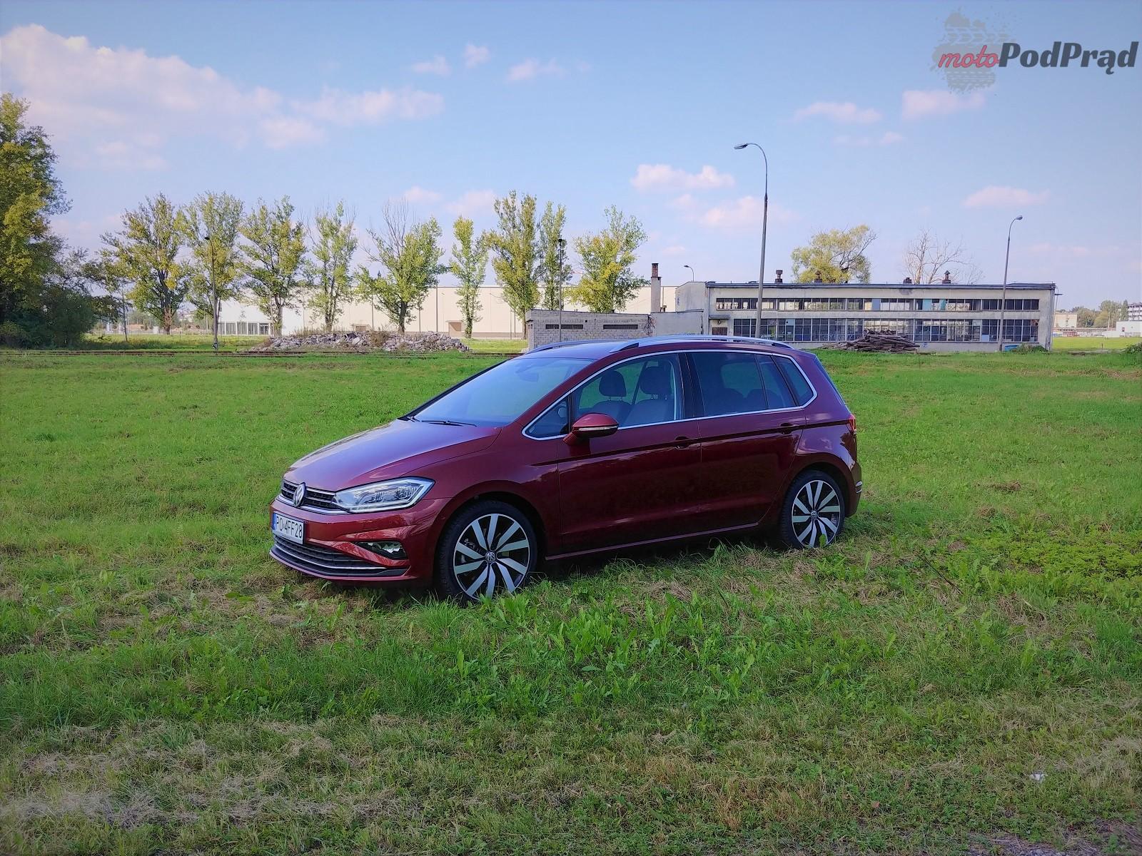 Volkswagen Golf Sportsvan 4 Test: Volkswagen Golf Sportsvan 1.5 TSI   garbaty anioł