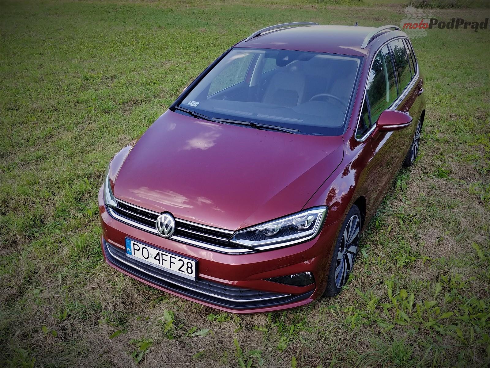 Volkswagen Golf Sportsvan 7 Test: Volkswagen Golf Sportsvan 1.5 TSI   garbaty anioł