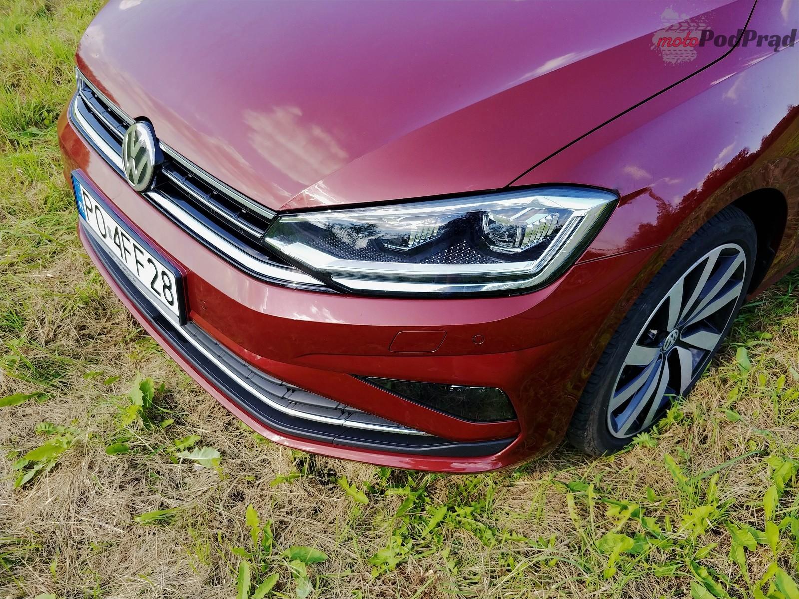 Volkswagen Golf Sportsvan 8 Test: Volkswagen Golf Sportsvan 1.5 TSI   garbaty anioł