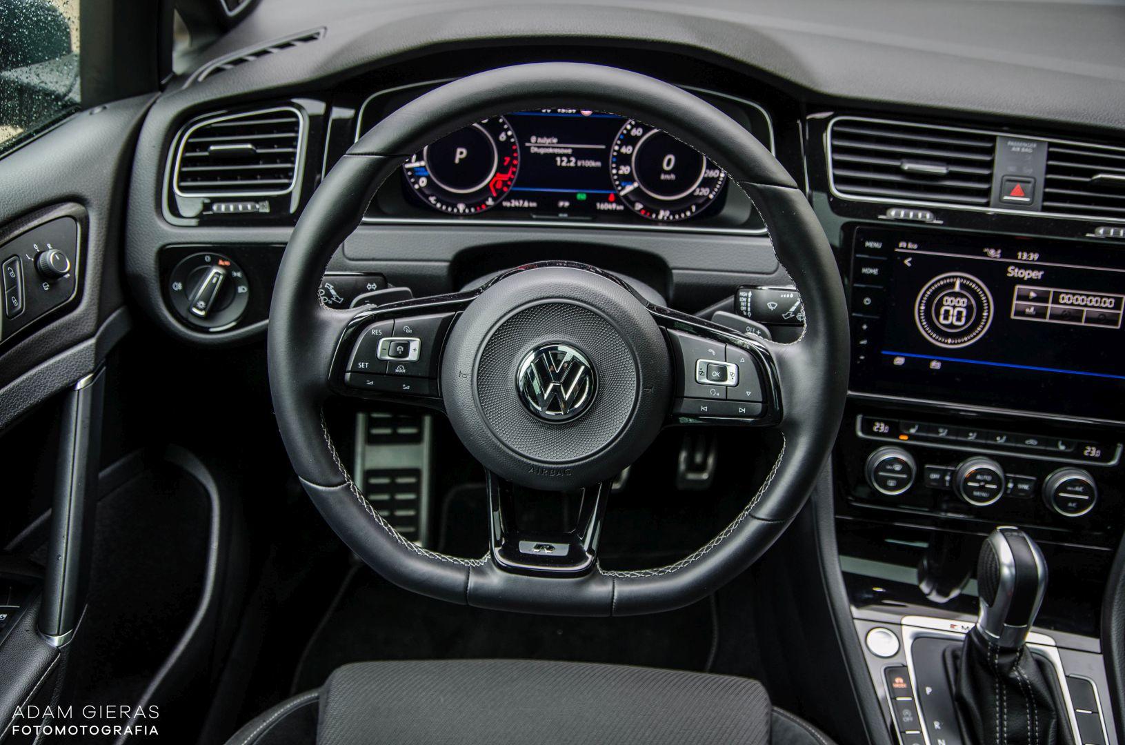 golf R 310 10 Test: Volkswagen Golf R 310 4Motion   cichociemny