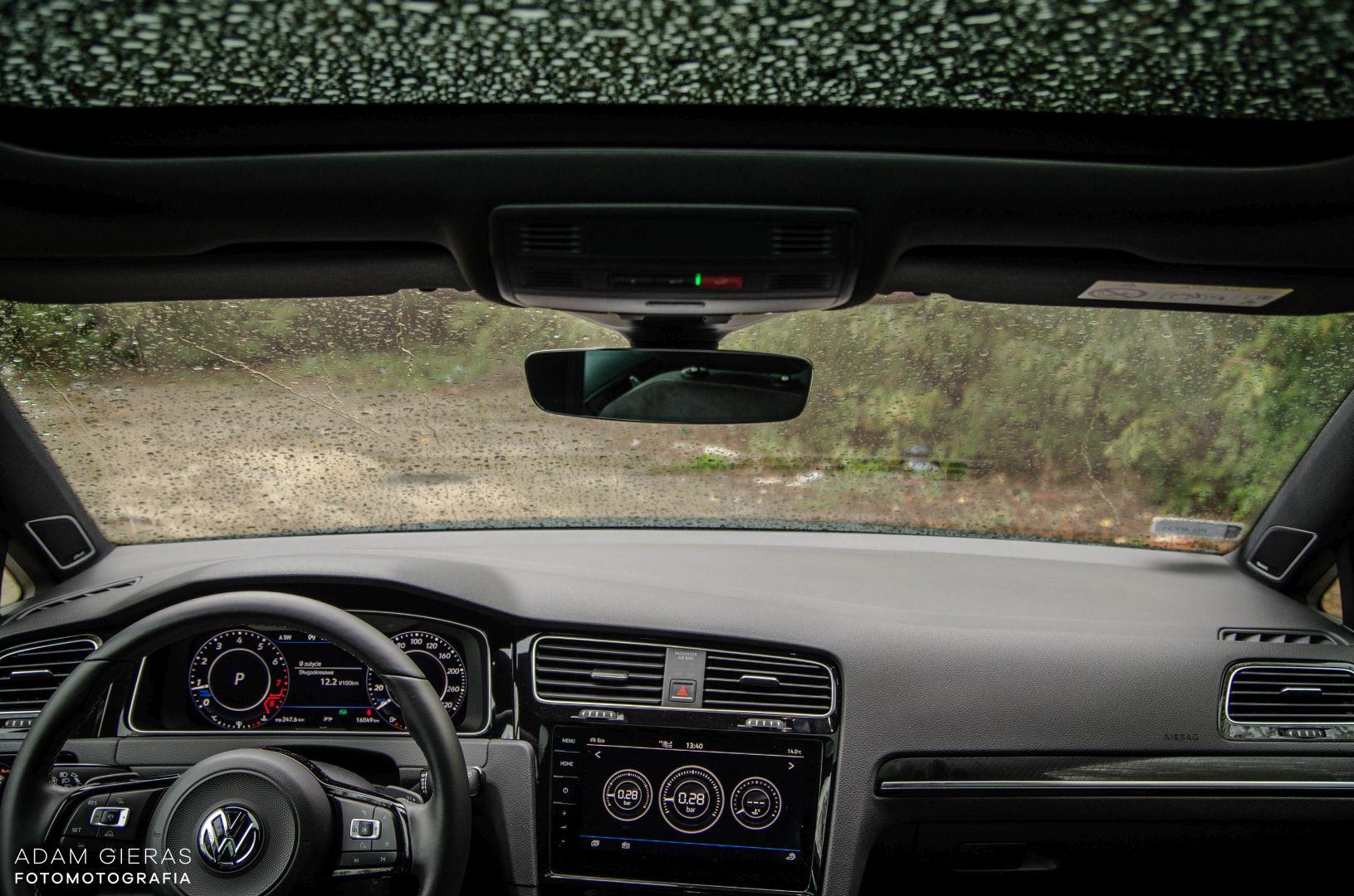 golf R 310 11 Test: Volkswagen Golf R 310 4Motion   cichociemny