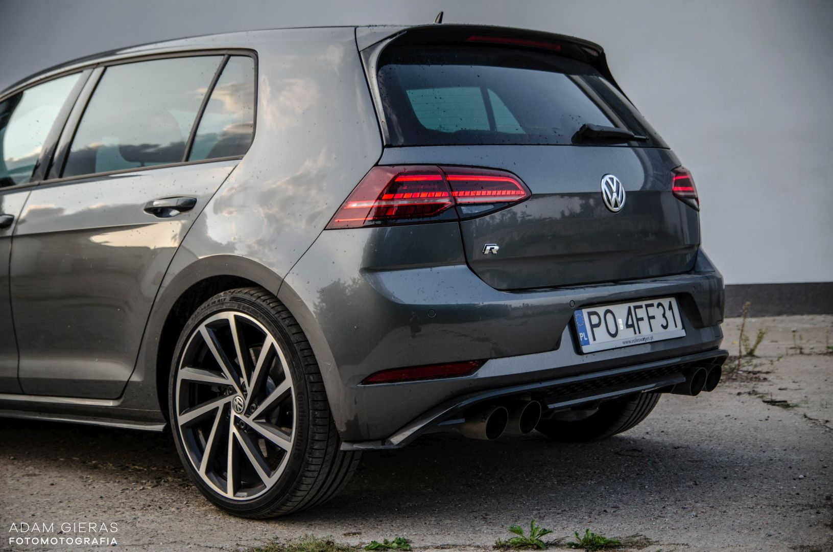 golf R 310 15 Test: Volkswagen Golf R 310 4Motion   cichociemny