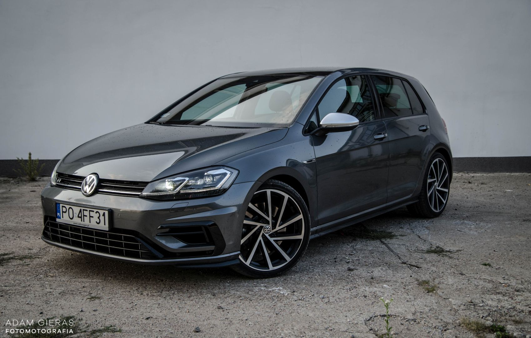 golf R 310 16 Test: Volkswagen Golf R 310 4Motion   cichociemny