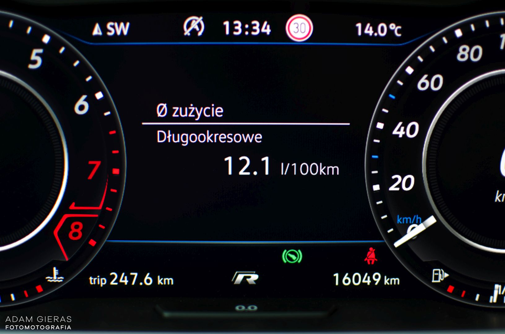 golf R 310 2 Test: Volkswagen Golf R 310 4Motion   cichociemny