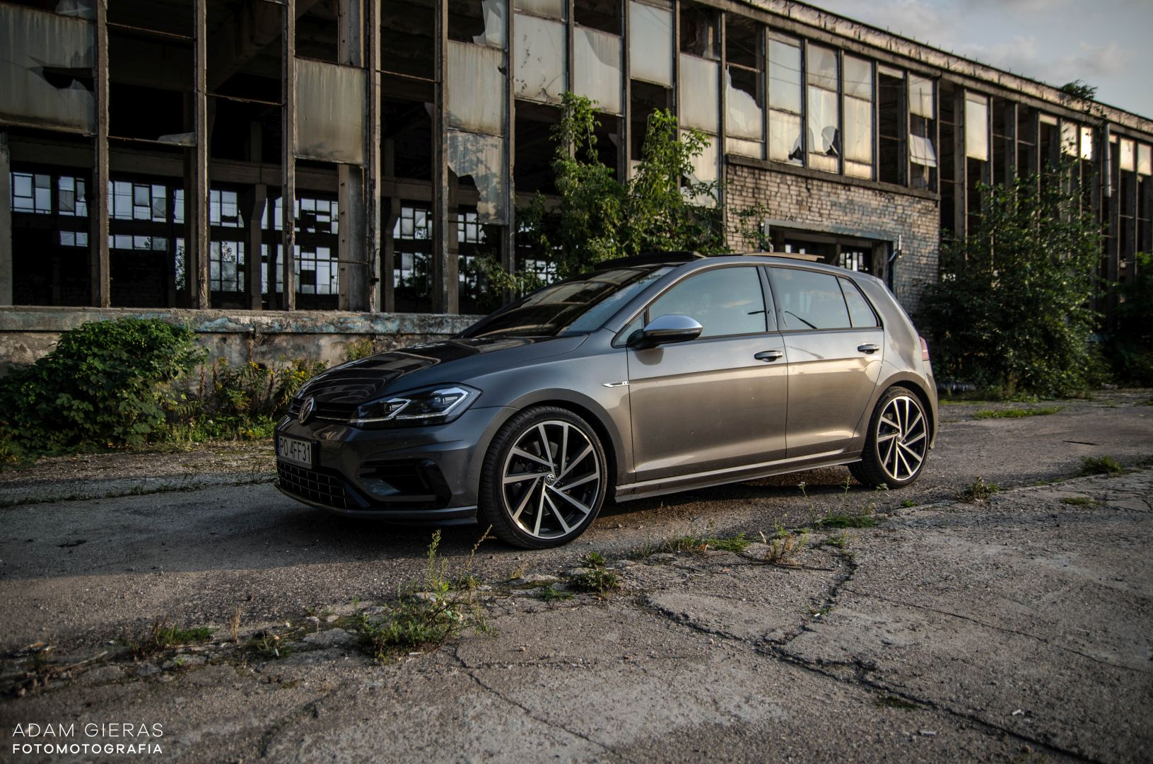 golf R 310 22 Test: Volkswagen Golf R 310 4Motion   cichociemny