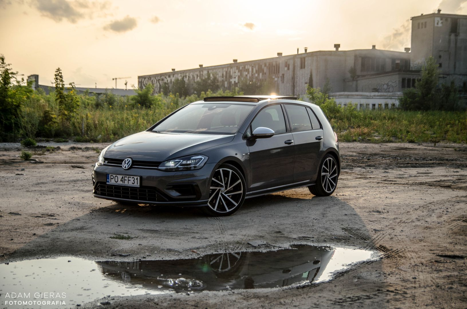golf R 310 25 Test: Volkswagen Golf R 310 4Motion   cichociemny