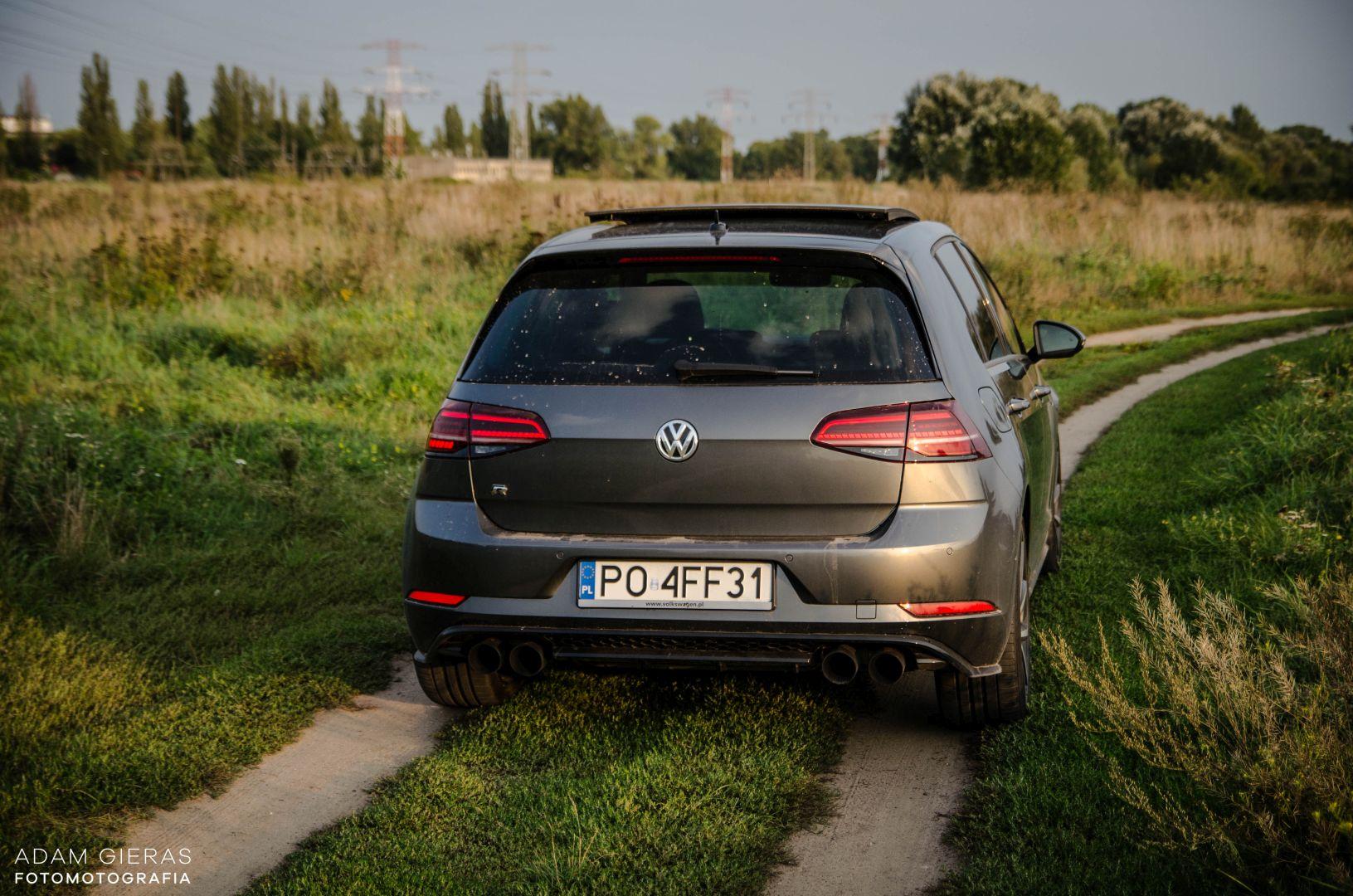 golf R 310 27 Test: Volkswagen Golf R 310 4Motion   cichociemny