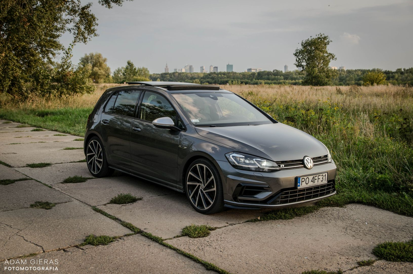 golf R 310 29 Test: Volkswagen Golf R 310 4Motion   cichociemny