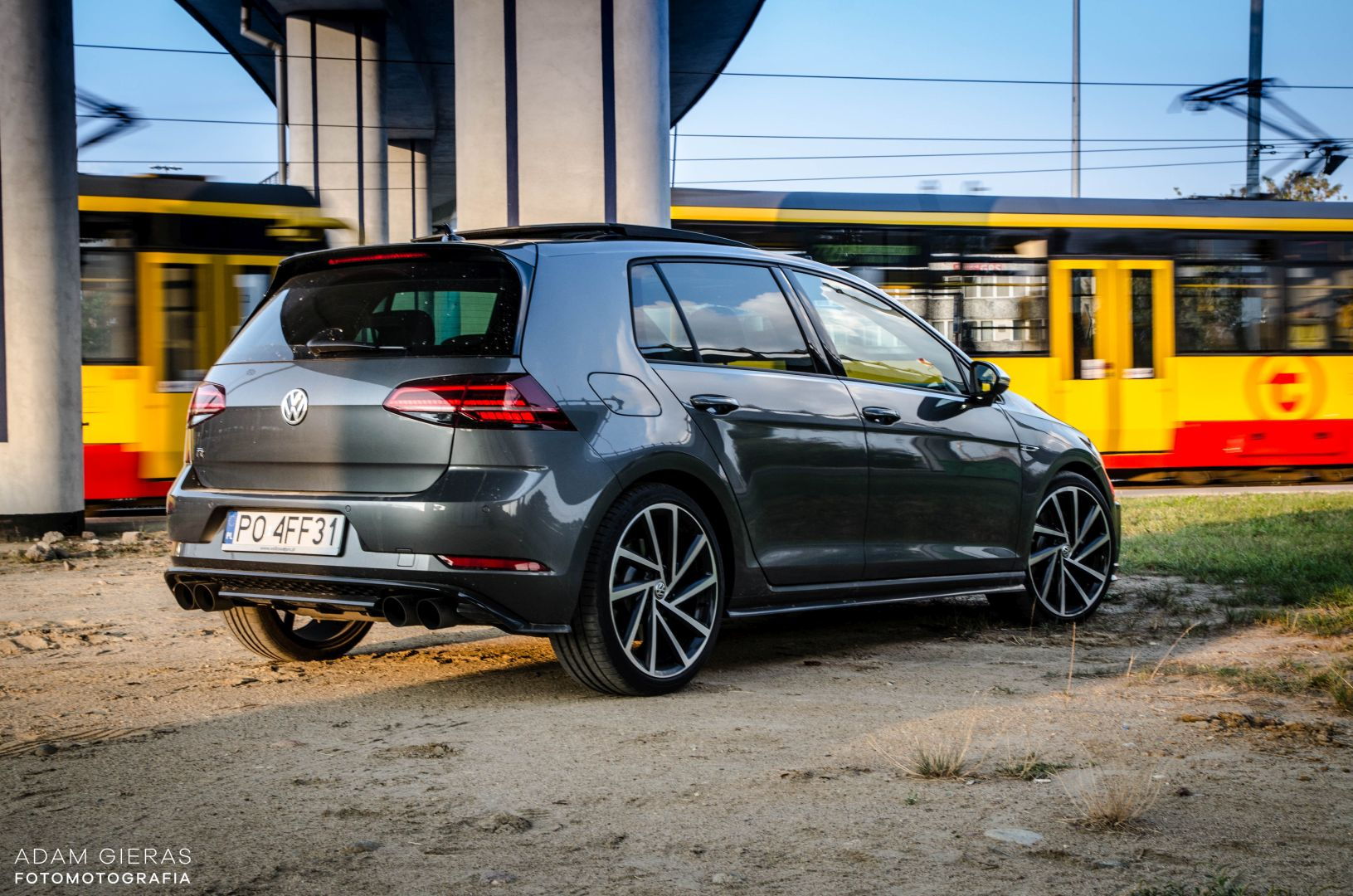 golf R 310 35 Test: Volkswagen Golf R 310 4Motion   cichociemny