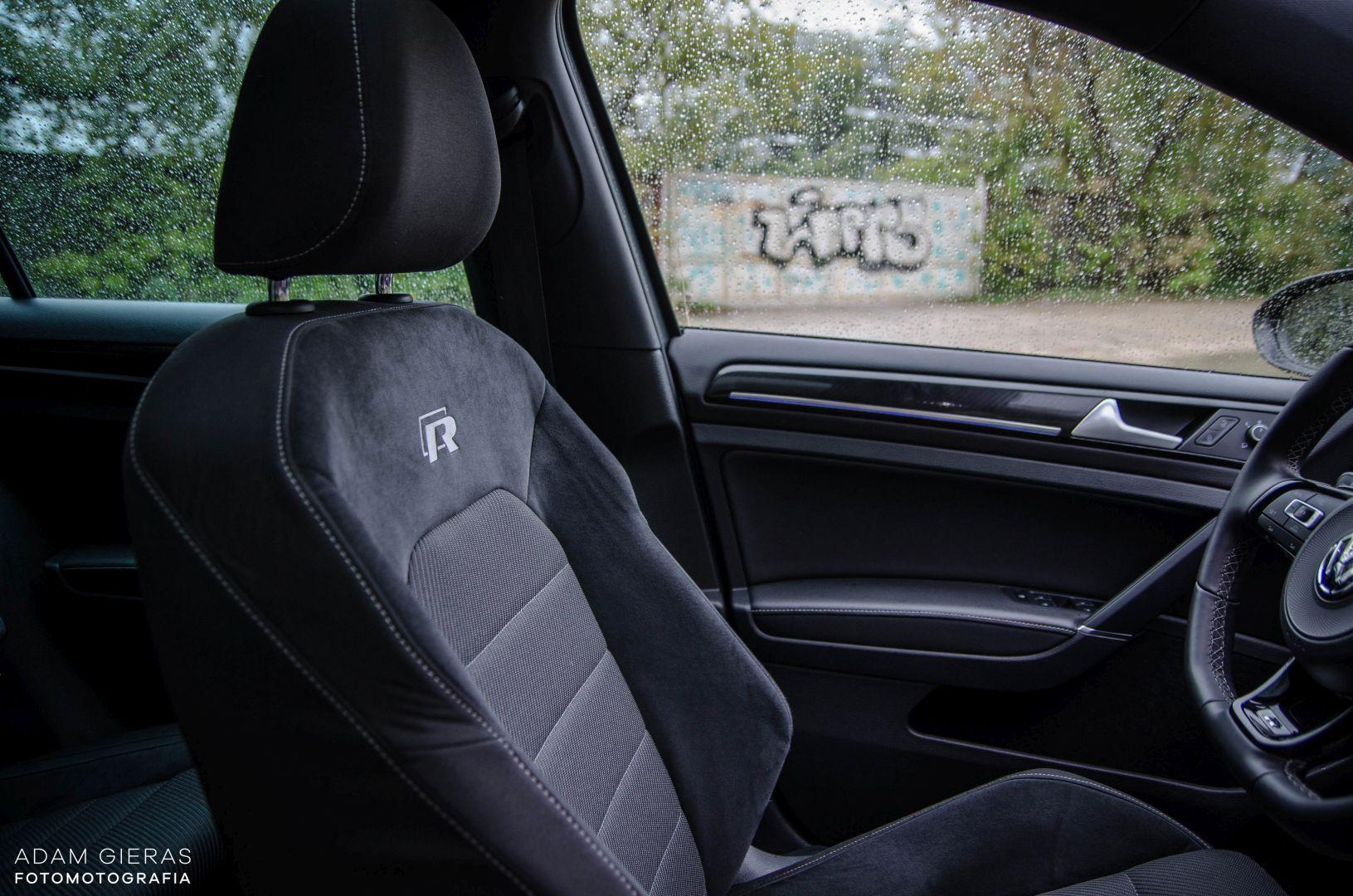 golf R 310 5 Test: Volkswagen Golf R 310 4Motion   cichociemny