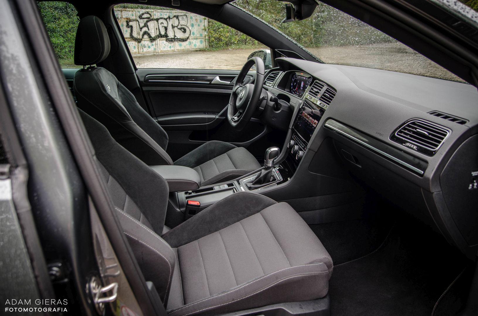 golf R 310 6 Test: Volkswagen Golf R 310 4Motion   cichociemny