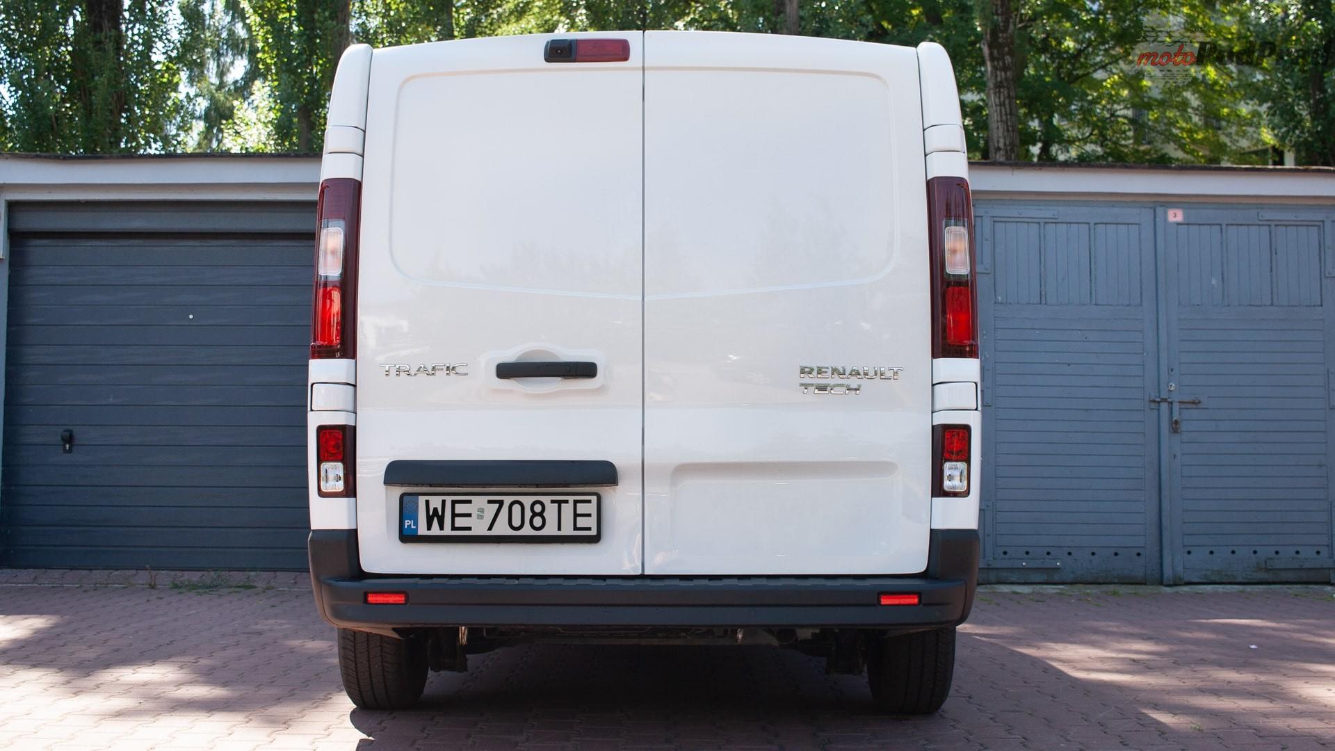 renault trafic 15 Test: Renault Trafic furgon z zabudową Renault Tech – mobilny serwis