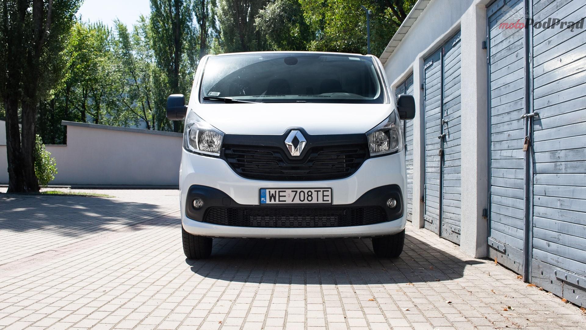renault trafic 17 Test: Renault Trafic furgon z zabudową Renault Tech – mobilny serwis