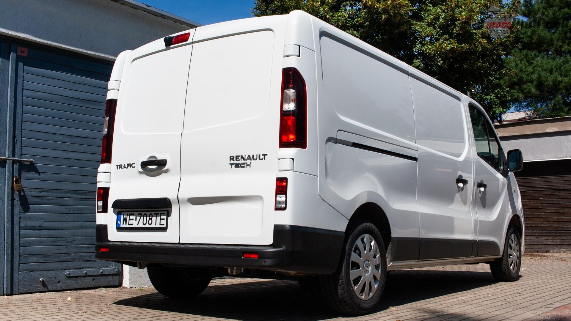 renault trafic 18 Test: Renault Trafic furgon z zabudową Renault Tech – mobilny serwis