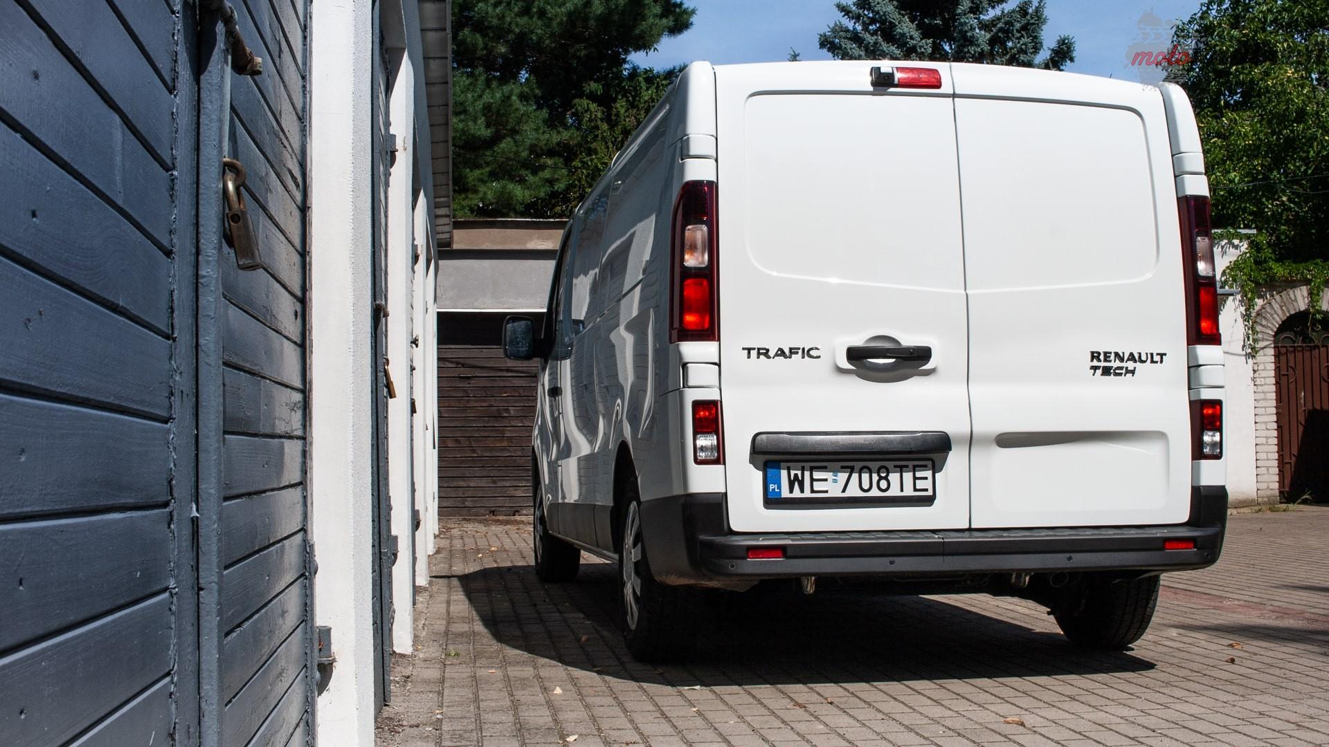 renault trafic 20 Test: Renault Trafic furgon z zabudową Renault Tech – mobilny serwis