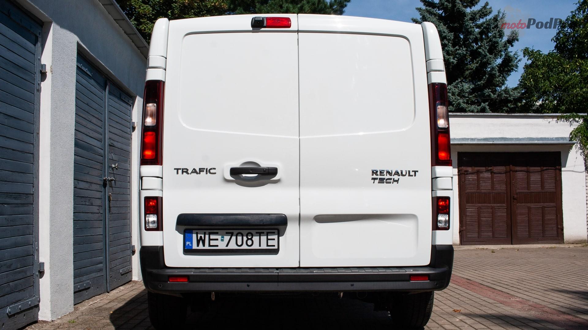 renault trafic 21 Test: Renault Trafic furgon z zabudową Renault Tech – mobilny serwis