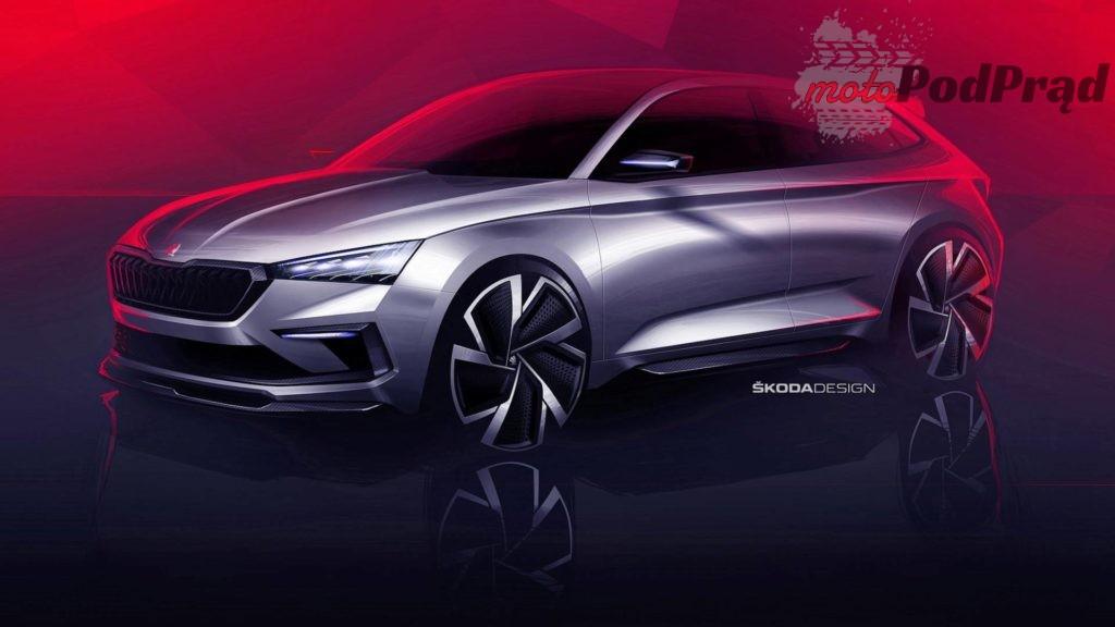 skoda vision rs teaser 1024x576 Co zobaczymy na Poznań Motor Show 2019?