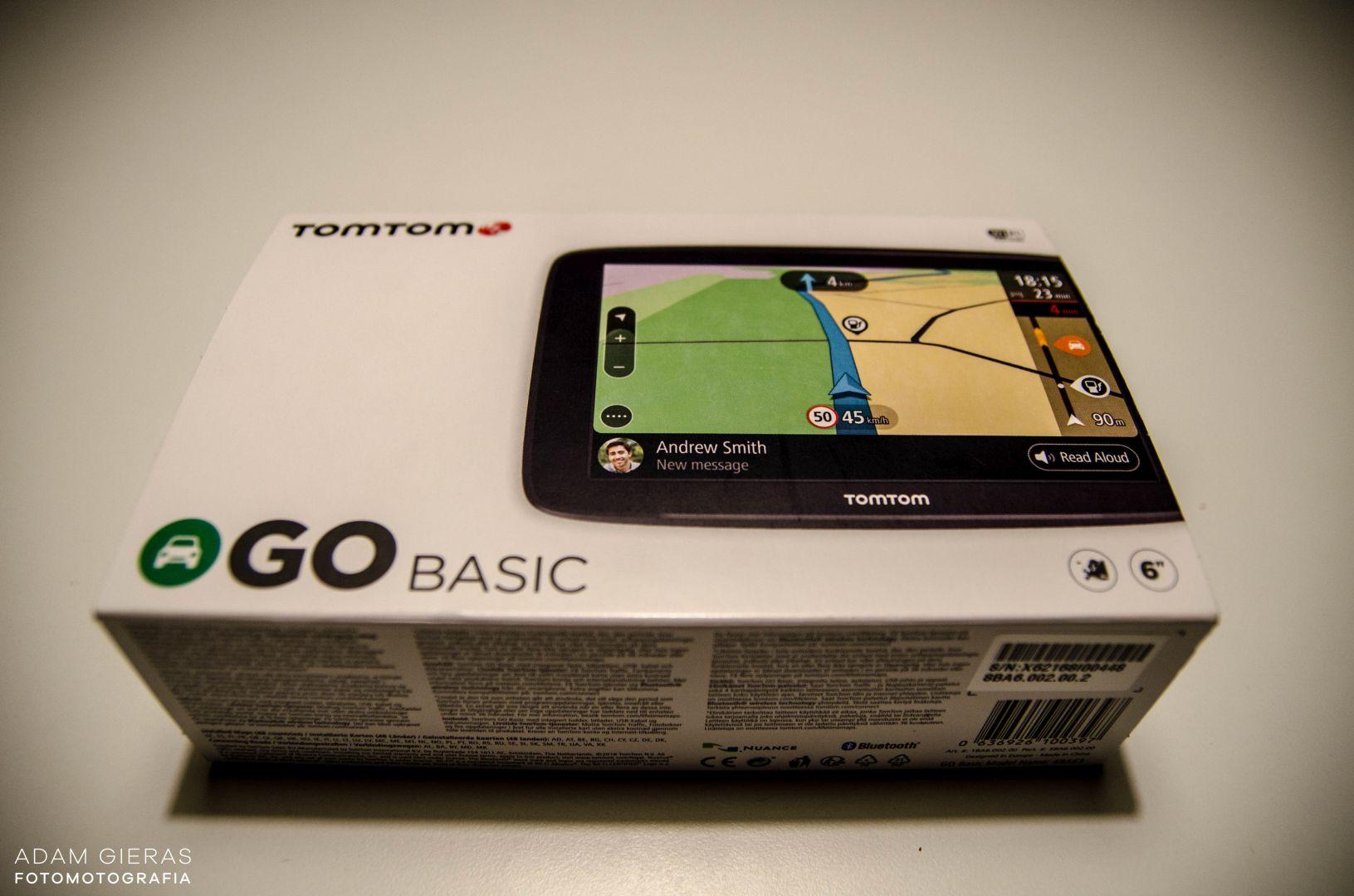 tomtom 1 Test: TomTom GO Basic: prosto, czytelnie, do celu