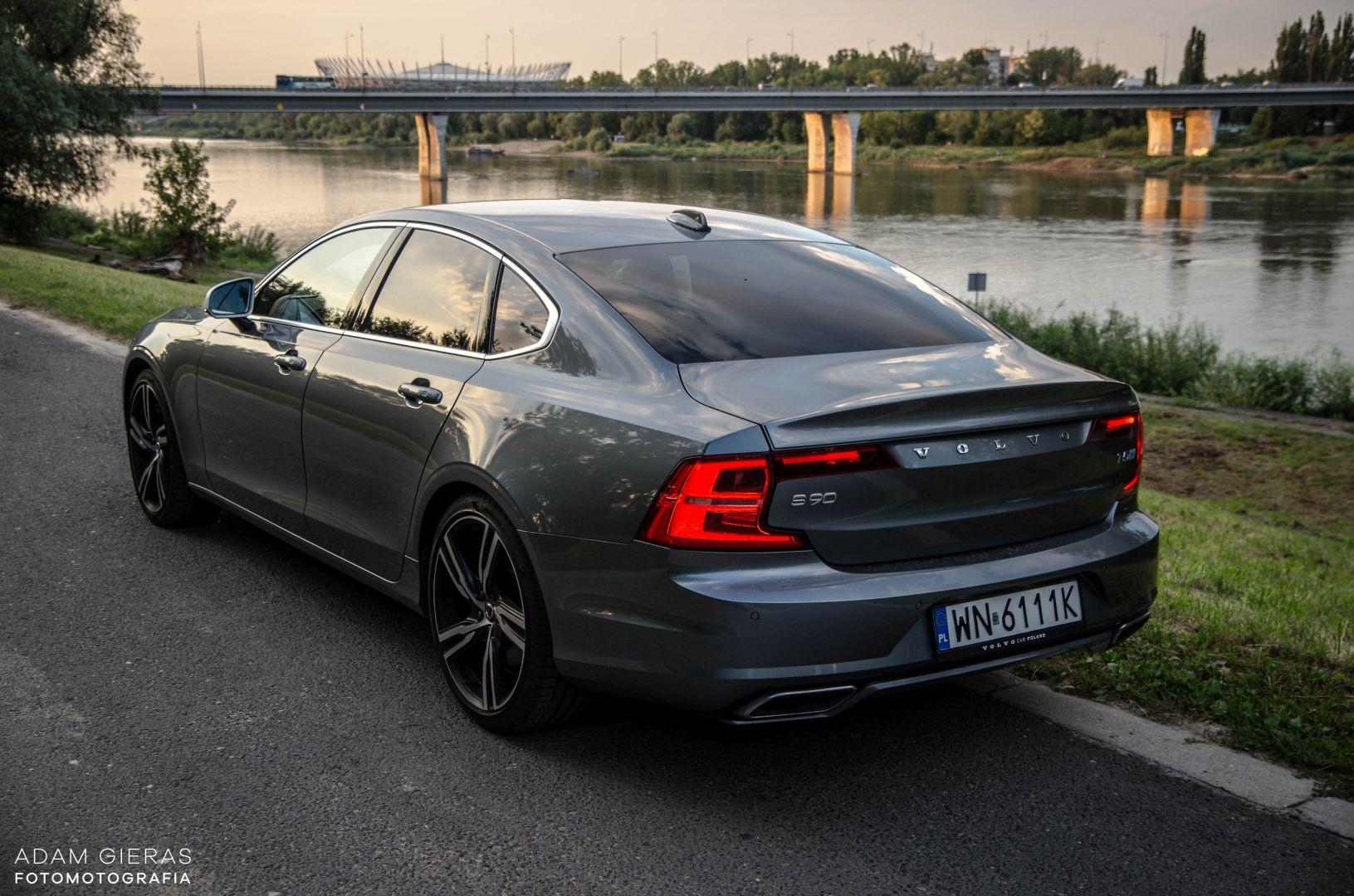 volvo s90 rdesign 13 Test: Volvo S90 T5 R Design Polestar   spokój i harmonia z zadziorem
