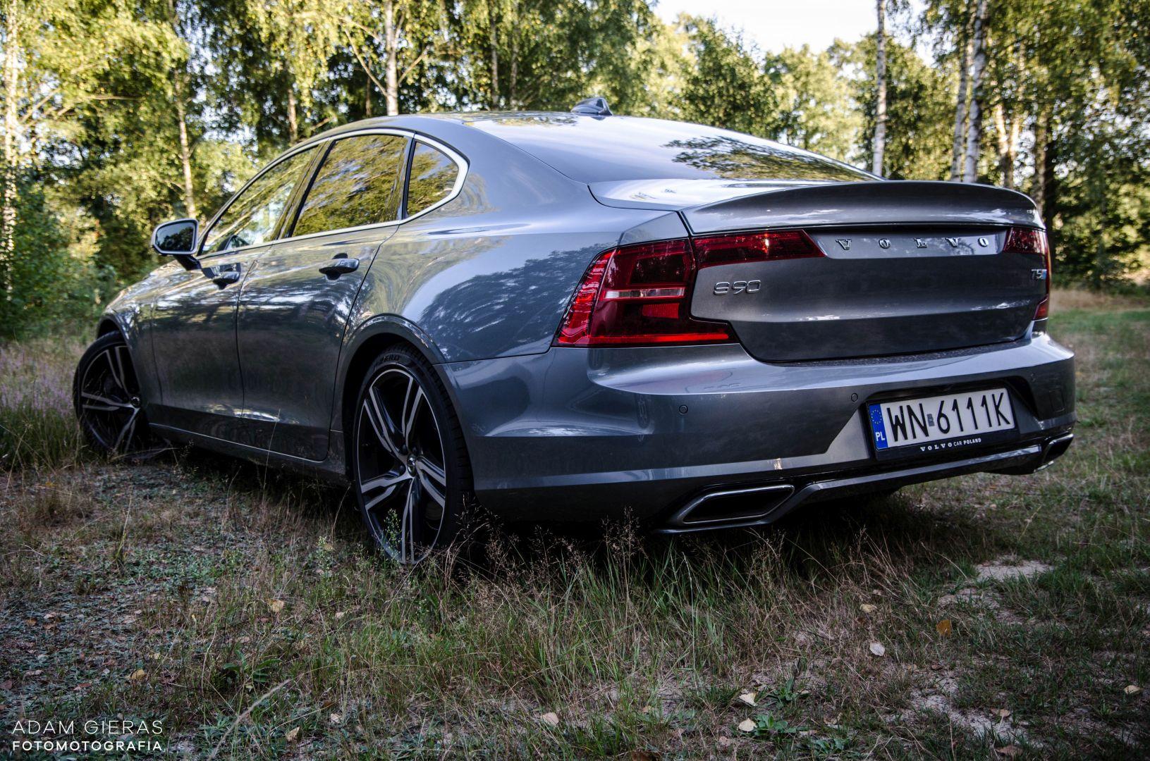 volvo s90 rdesign 2 Test: Volvo S90 T5 R Design Polestar   spokój i harmonia z zadziorem
