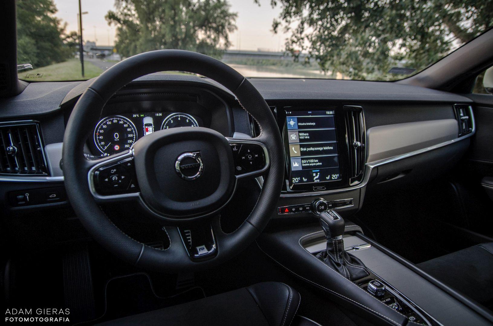 volvo s90 rdesign 21 Test: Volvo S90 T5 R Design Polestar   spokój i harmonia z zadziorem