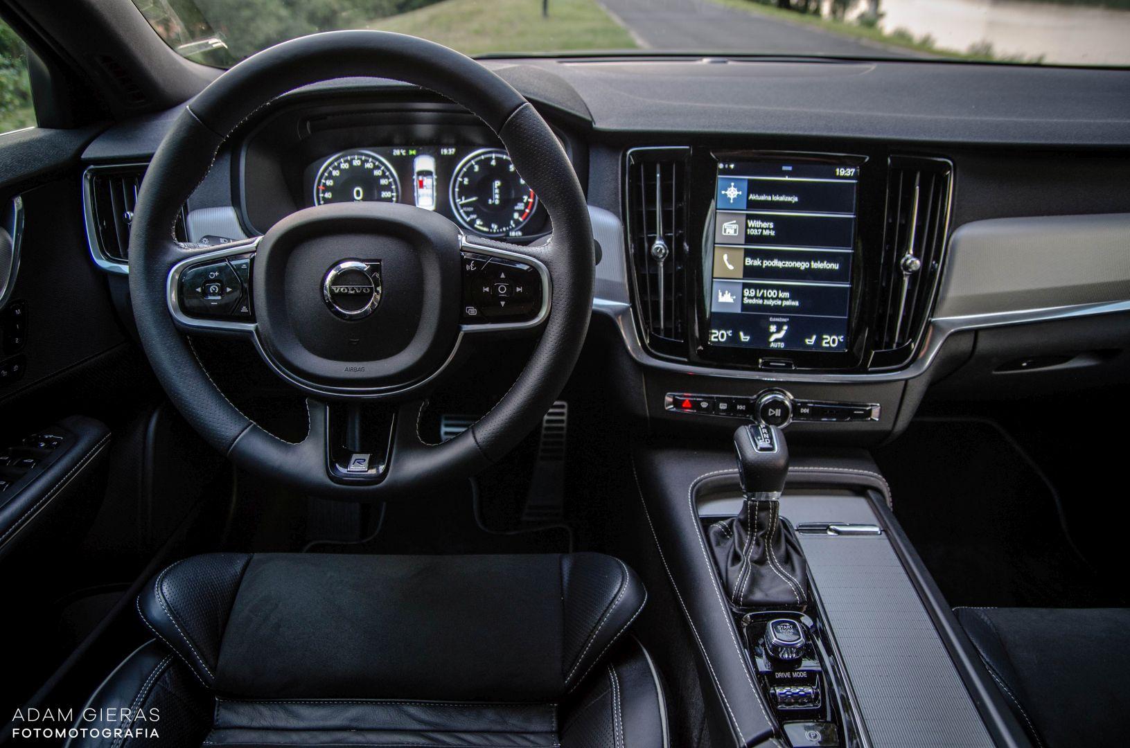 volvo s90 rdesign 23 Test: Volvo S90 T5 R Design Polestar   spokój i harmonia z zadziorem