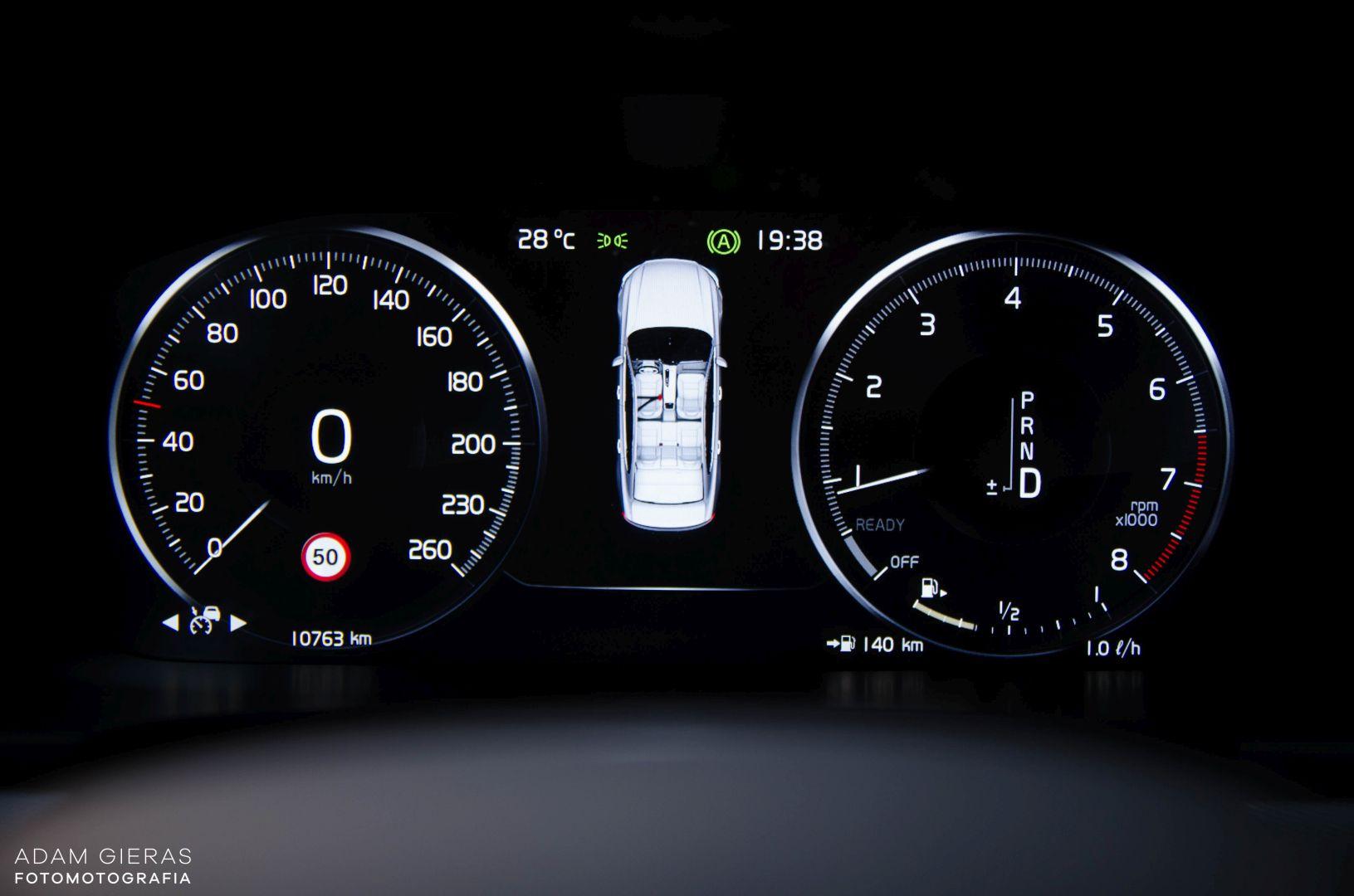 volvo s90 rdesign 24 Test: Volvo S90 T5 R Design Polestar   spokój i harmonia z zadziorem
