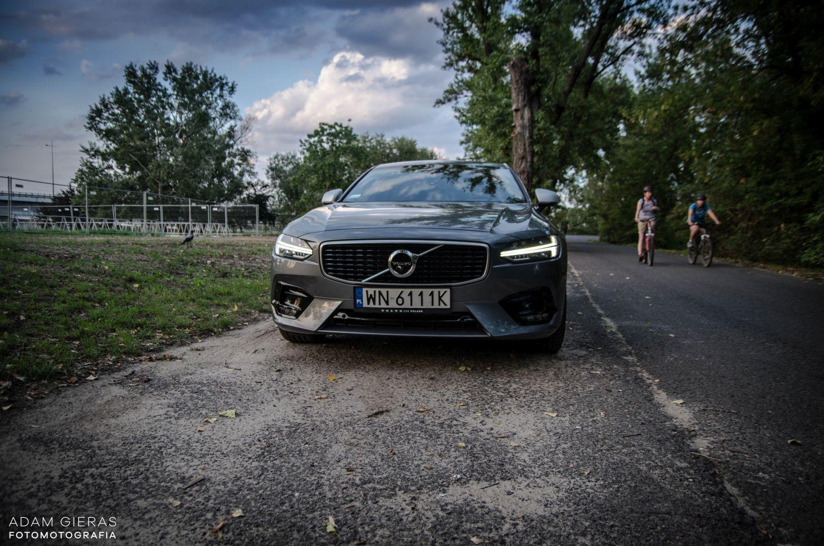 volvo s90 rdesign 26 Test: Volvo S90 T5 R Design Polestar   spokój i harmonia z zadziorem