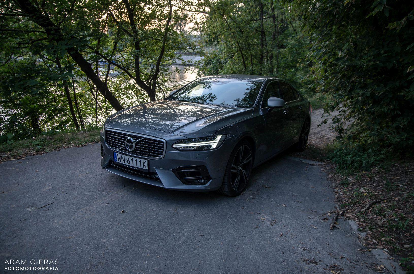 volvo s90 rdesign 27 Test: Volvo S90 T5 R Design Polestar   spokój i harmonia z zadziorem
