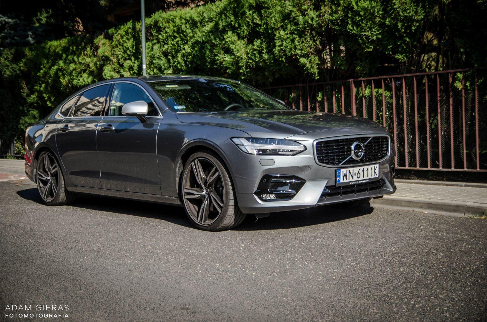 volvo s90 rdesign 7 Test: Volvo S90 T5 R Design Polestar   spokój i harmonia z zadziorem